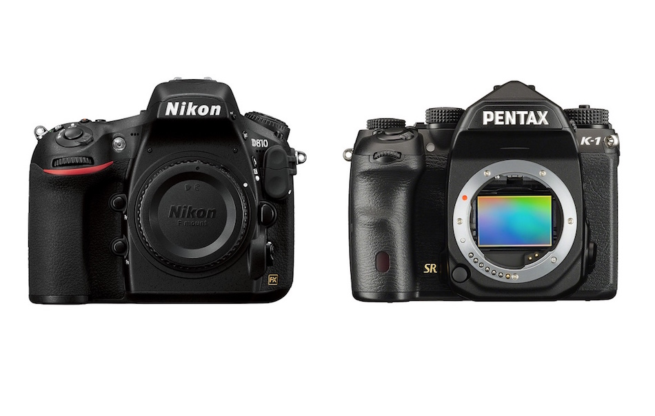 Nikon D810 vs Pentax K-1 Comparison