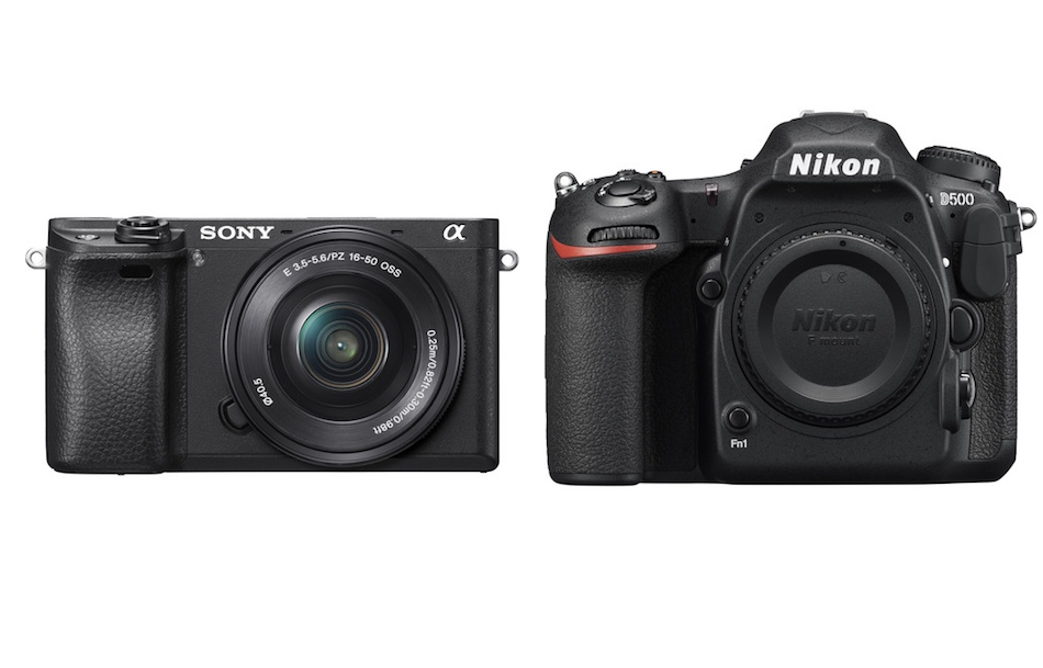 Sony A6300 vs Nikon D500 Comparison