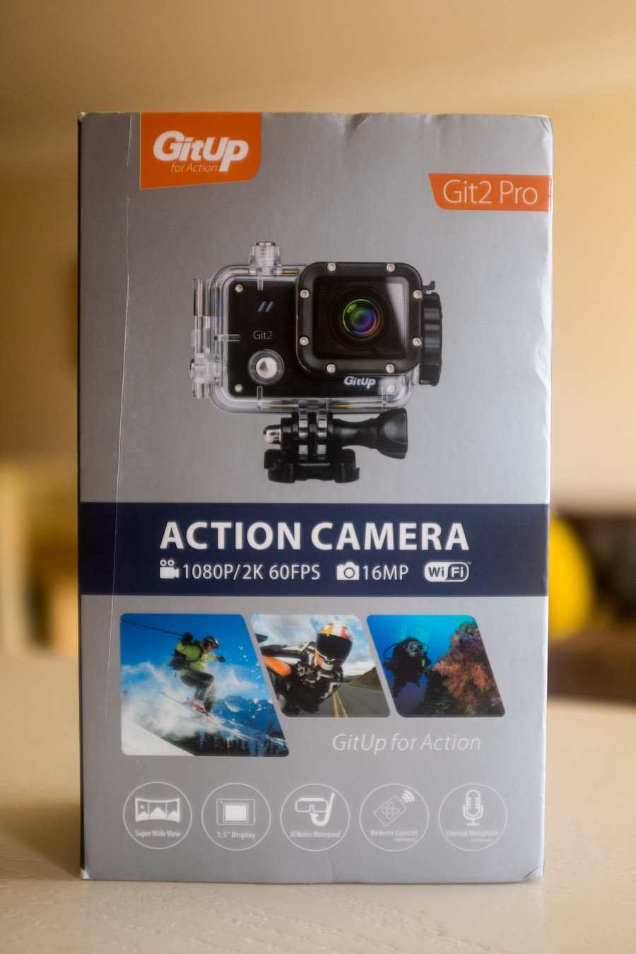 Git 2 Gitup Action Camera Review