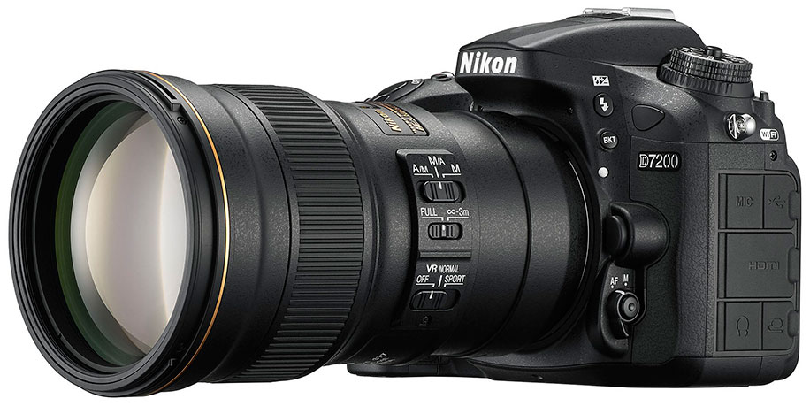 Nikon D5500 and Nikon D7200 Discontinued