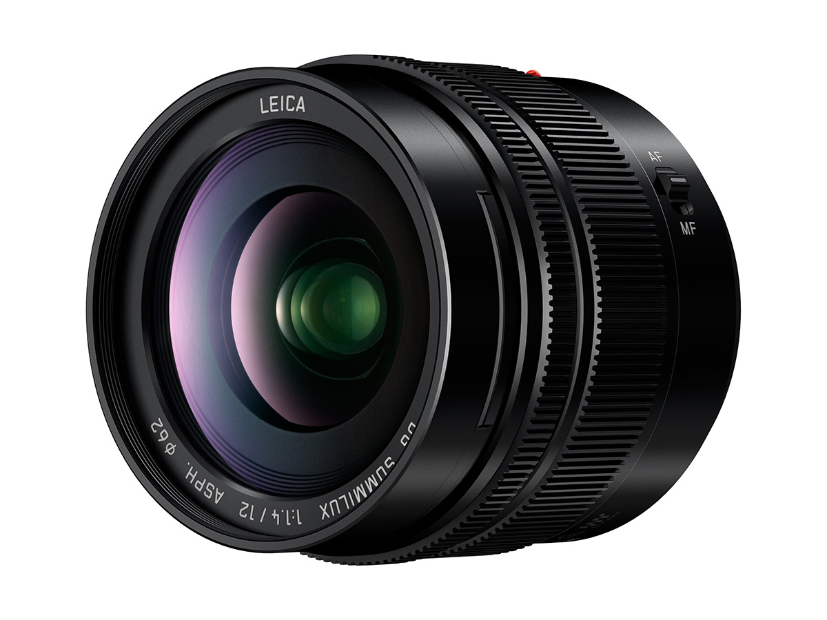 Panasonic Lumix G Leica Summilux 12mm F1.4 Lens Announced