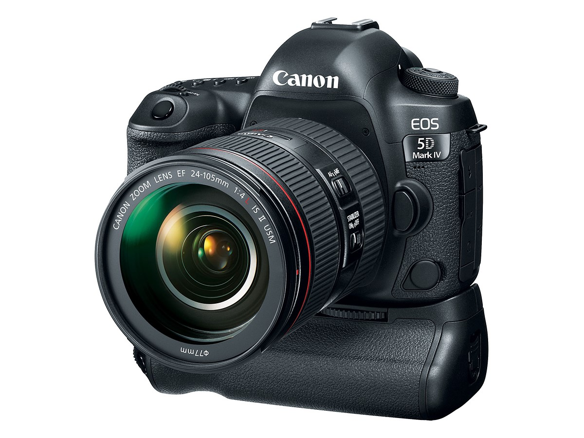 Canon EOS 5D Mark IV announced with 30MP sensor and Dual Pixel AF