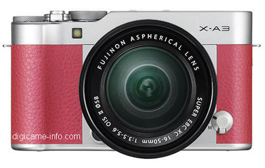 First Fujifilm X-A3 Specs and Images Leaked