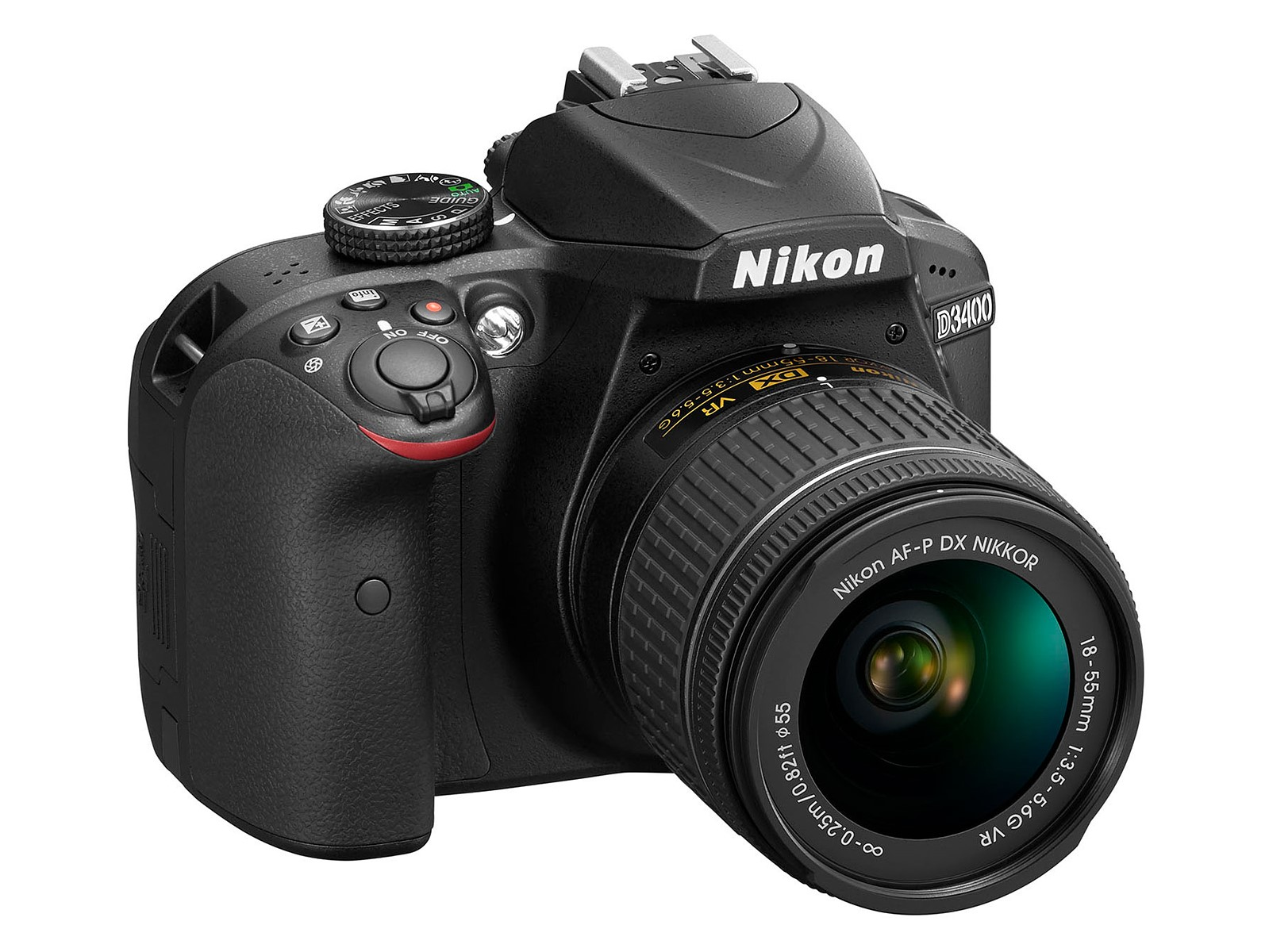 Nikon D3400 DSLR camera becomes official