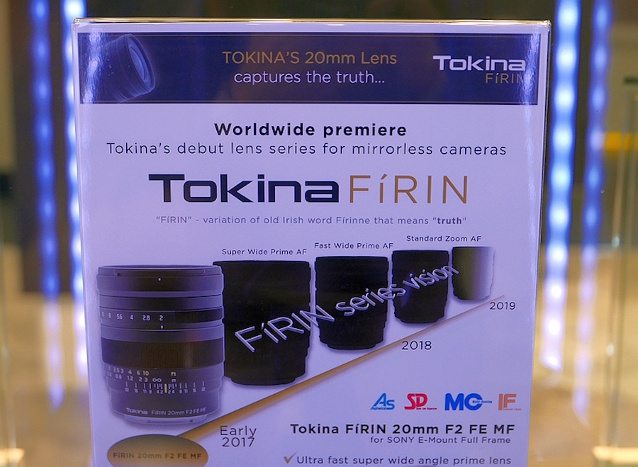 three new tokina firin lenses coming for sony e mount full frame cameras