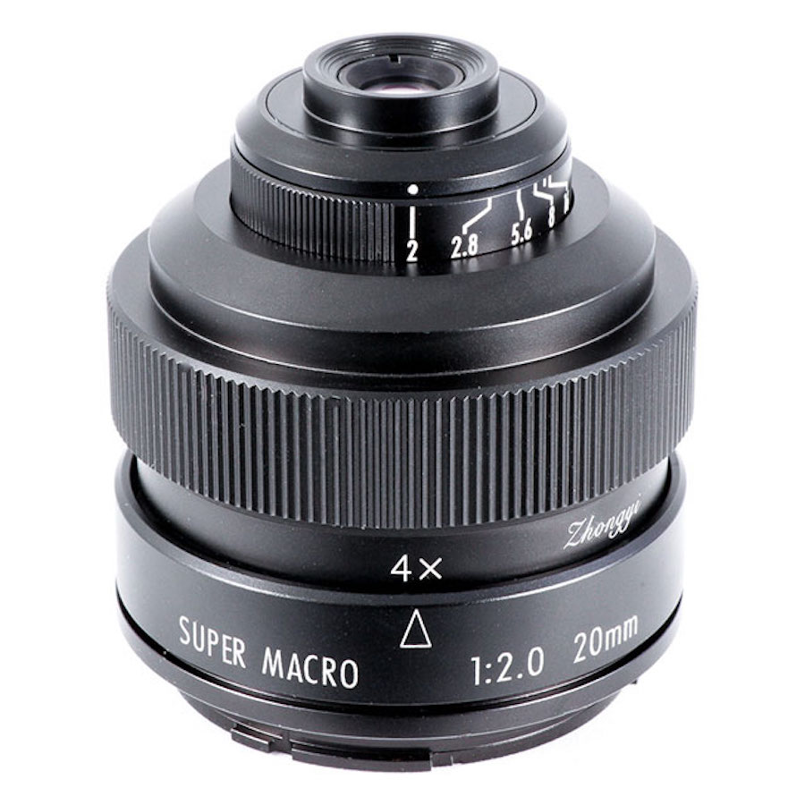 Zhongyi Announces Mitakon 20mm F/2 4.5X Super Macro Lens