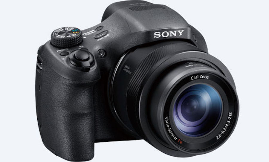Sony HX350 camera announced with 50x zoom