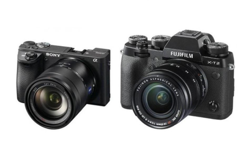 Sony A6500 vs Fujifilm X-T2 Comparison