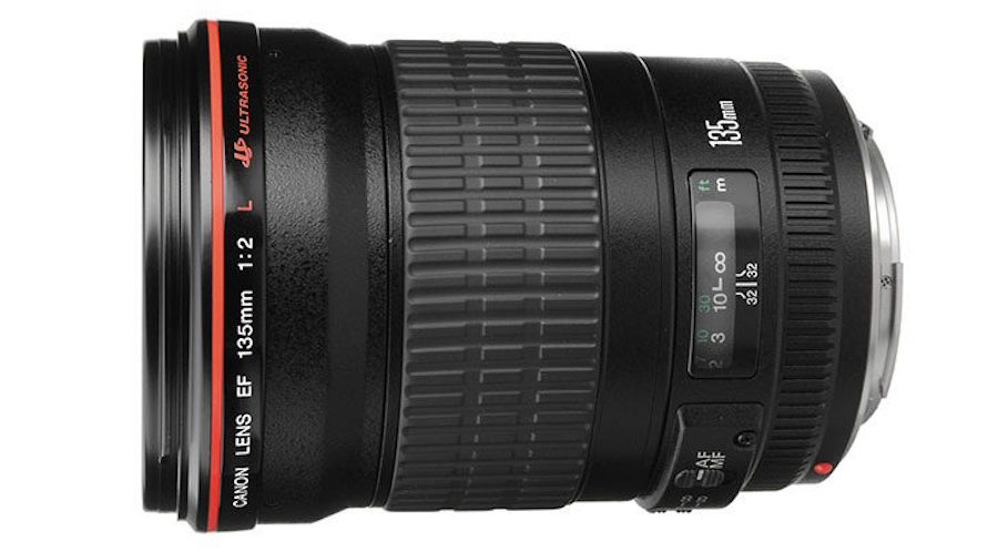 Canon EF 135mm f/2L IS USM Lens Coming in 2017