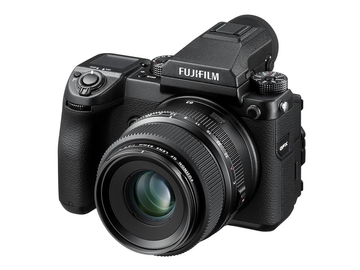 Fujifilm GFX 50S Medium Format Camera Announced at $6500