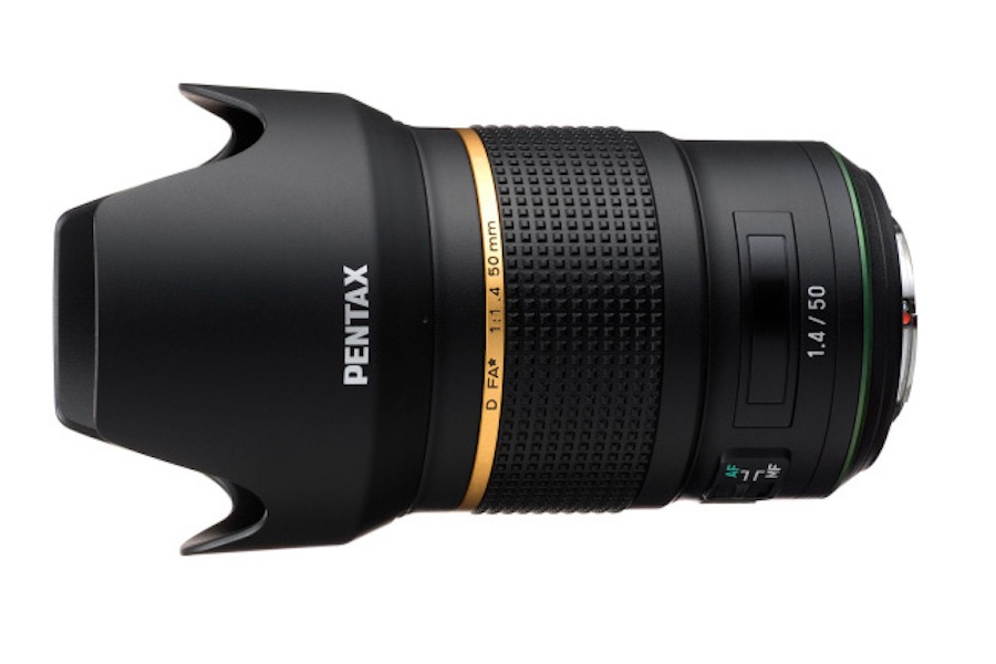 Pentax D FA 50mm f/1.4 Lens is in the Works