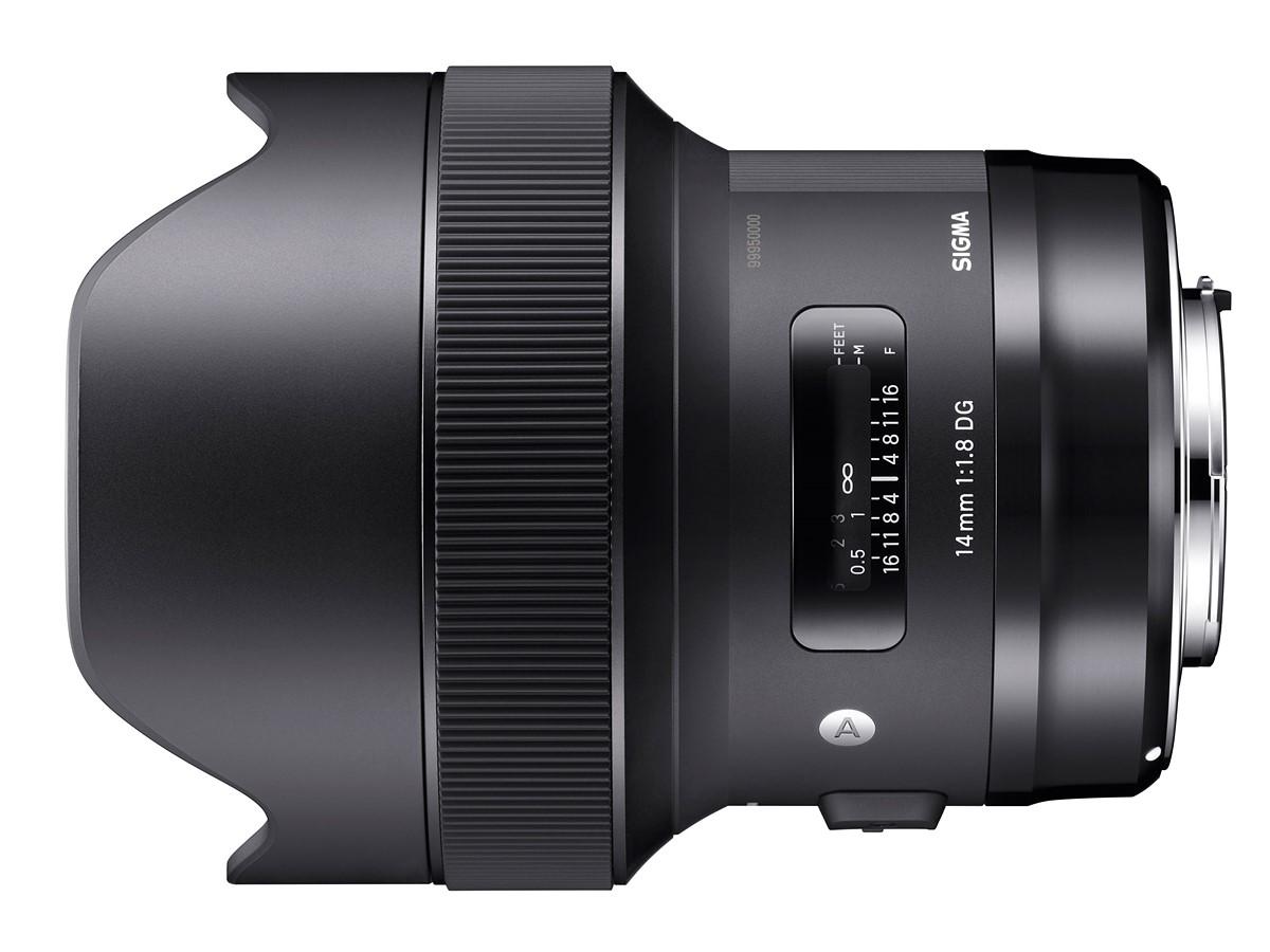 Sigma 12mm f/2.8 DG HSM Art Lens Patent