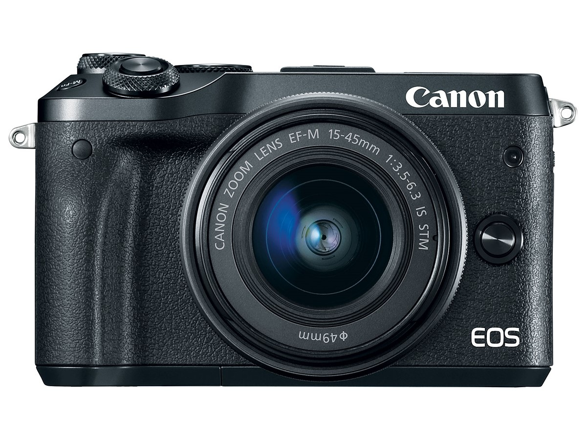 Canon EOS M6 mirrorless camera officially announced