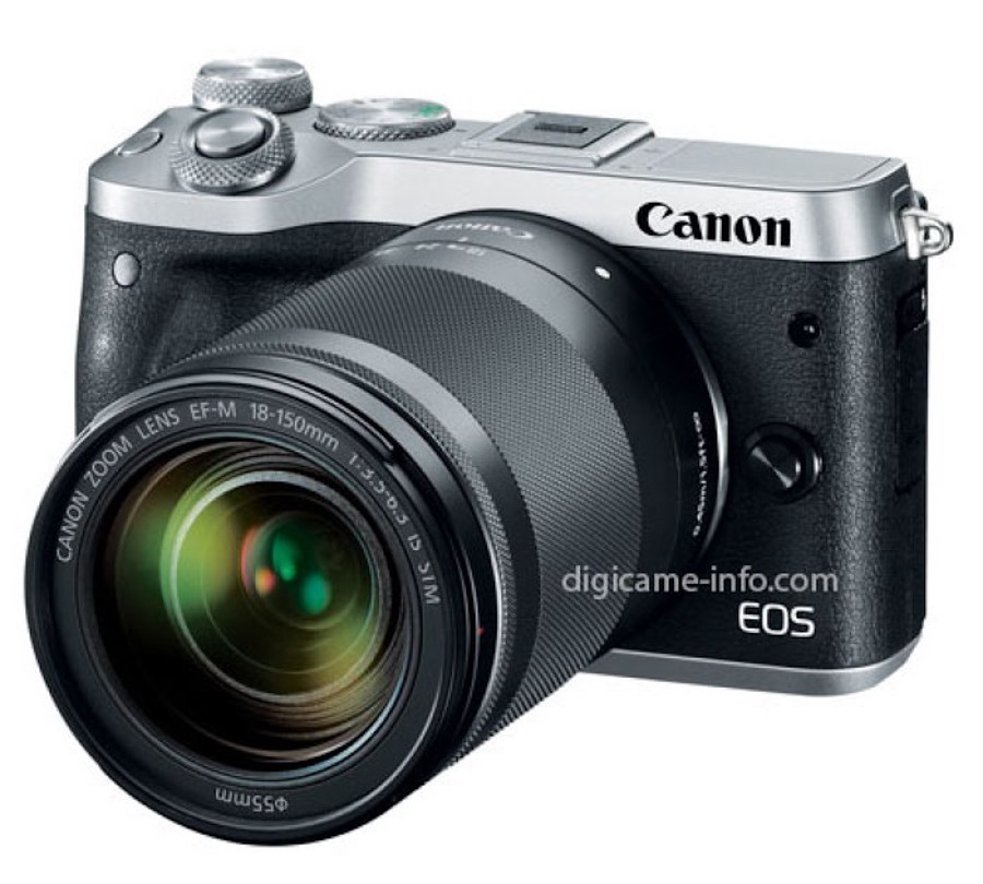 Canon EOS M6 Images Leaked On the Web