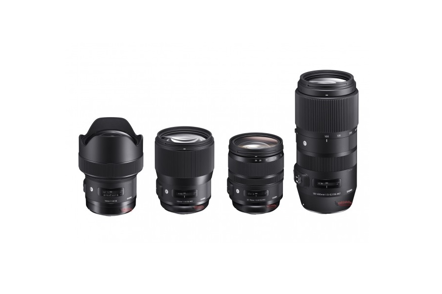 New Sigma 135mm f/1.8 DG Art, 14mm f/1.8 DG Art, 24-70mm f/2.8 DG OS Art, 100-400mm DG OS C Coming Soon