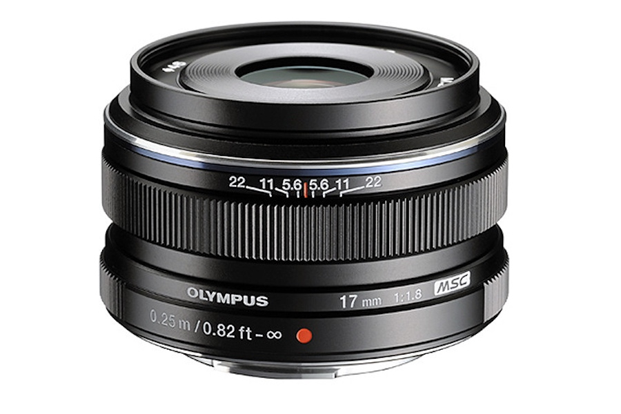 Olympus 17mm f/1.2 PRO lens coming in 2017