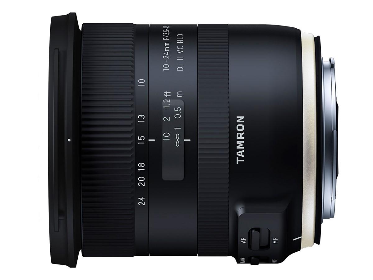 Tamron SP 70-200mm f/2.8 Di VC USD G2 and 10-24mm f/3.5-4.5 Di II VC HLD lenses announced