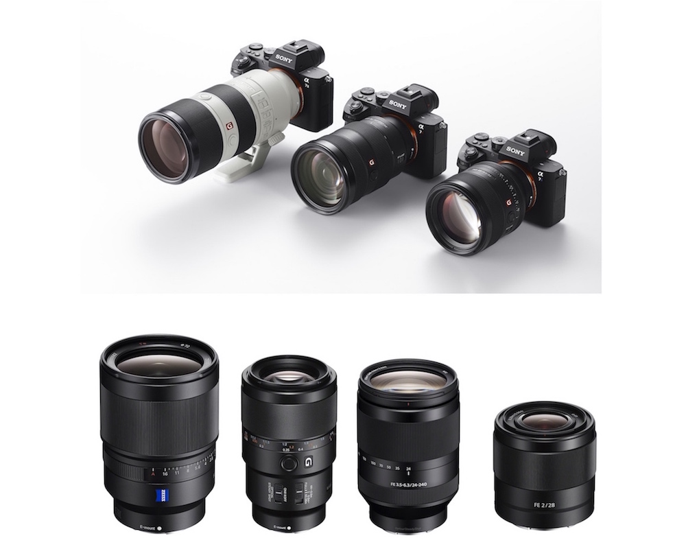 best sony full frame e mount lenses