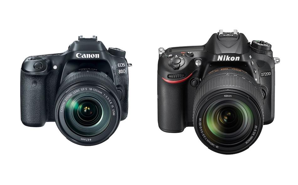 Canon 80D vs Nikon D7200 – Comparison