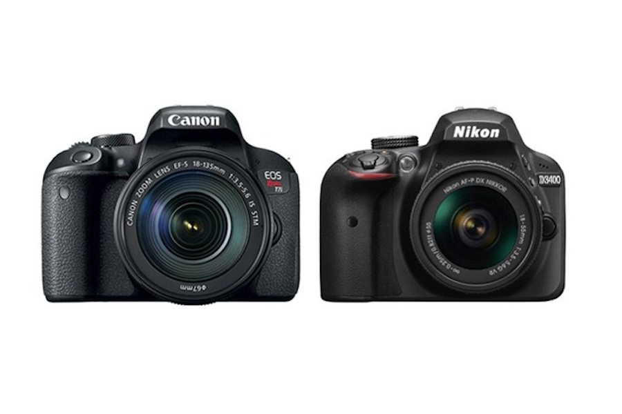 Differences between the Canon T7i vs Nikon D3400 - Comparison