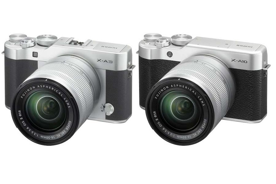 Fujifilm X-A3, X-A10, X-A20 Firmware Updates Released