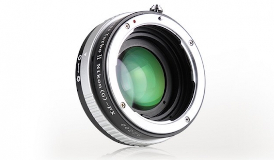 Mitakon launches Turbo II Nikon FX to Fuji X adapter