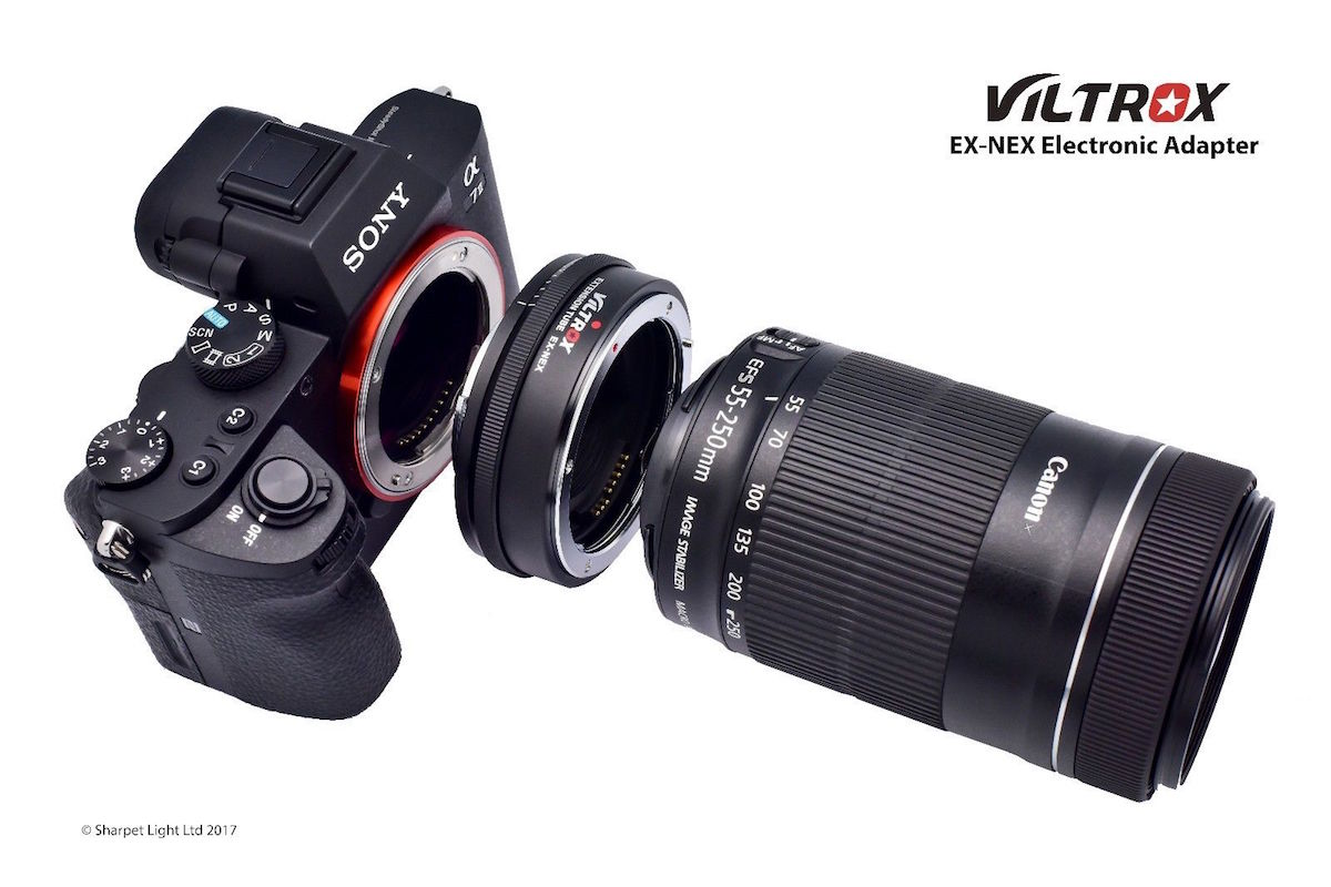 Viltrox announces Extendable Electronic Canon EF Lens to Sony E-mount Adapter