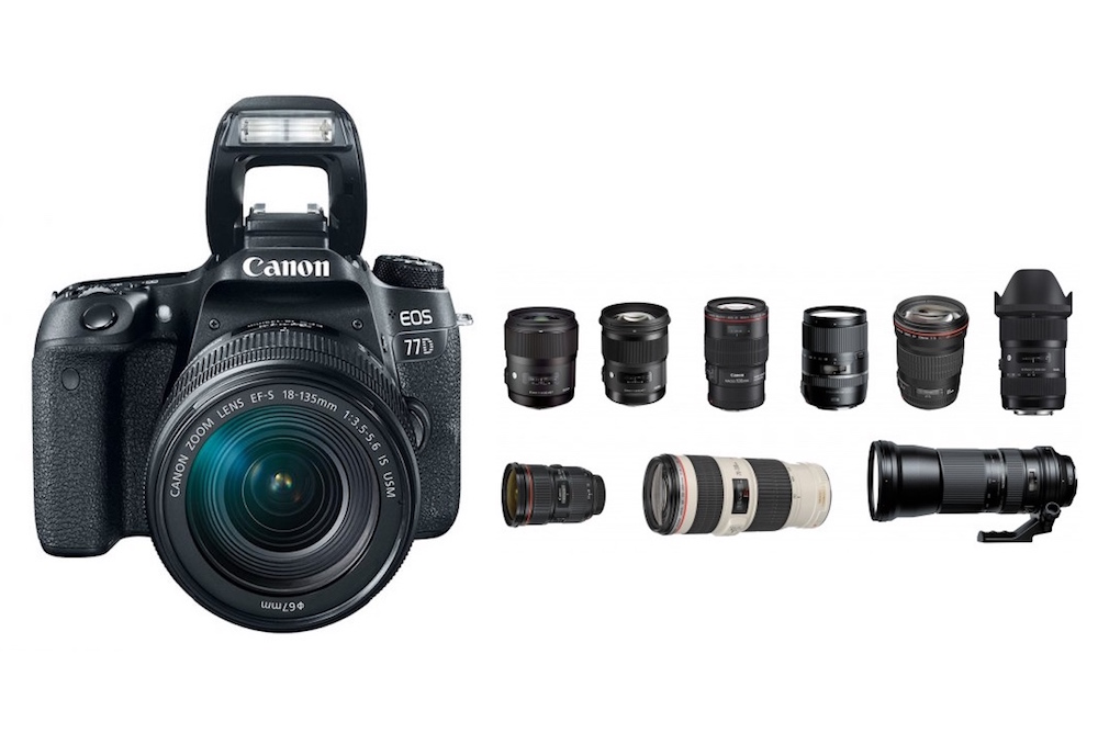 Best Lenses for Canon 77D DSLR camera