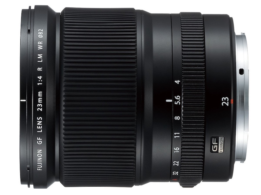 GF 23mm f/4 R LM WR Lens: Super wide-angle lens