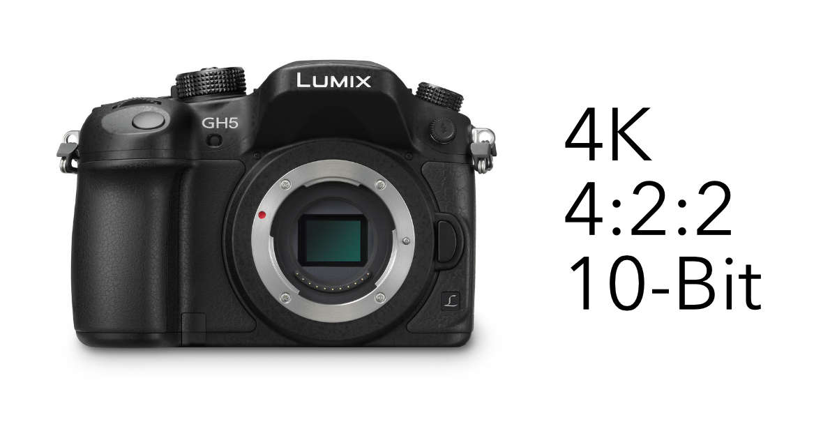 Panasonic GH5 Firmware V1.1 to be released on April 24 with the expansion of 4:2:2 10-bit Video Recording Mode
