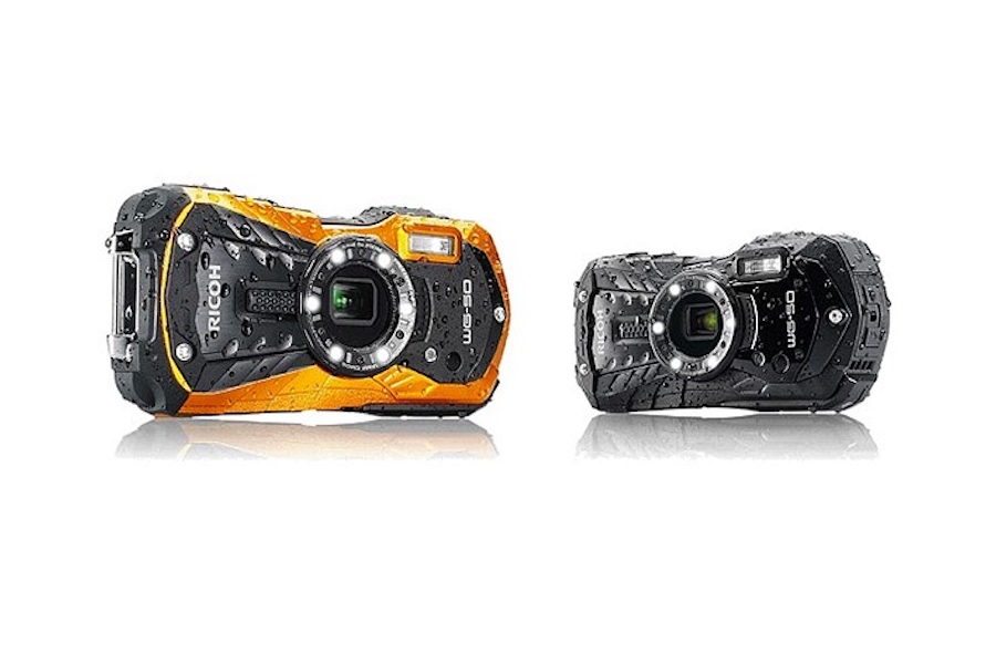 Ricoh WG-50 rugged compact camera announced with 5x zoom