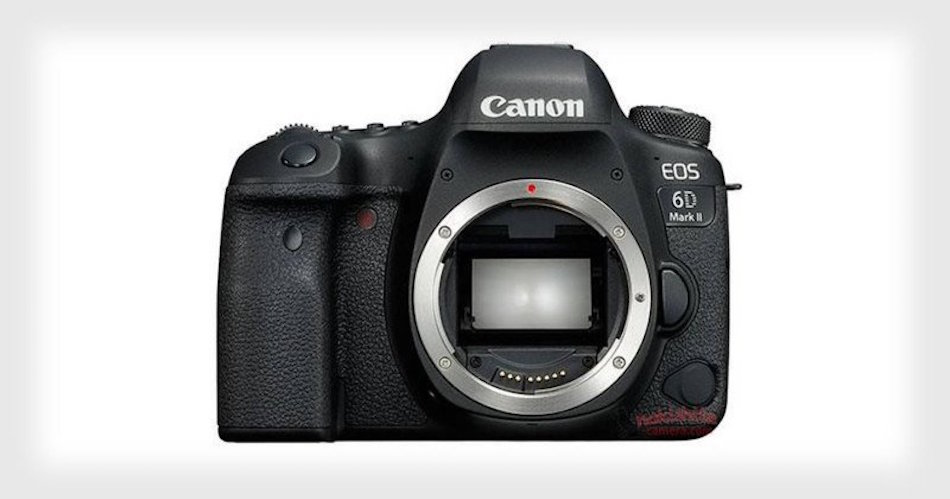 Canon 6D Mark II Specs, Images Leaked, Price : $1999
