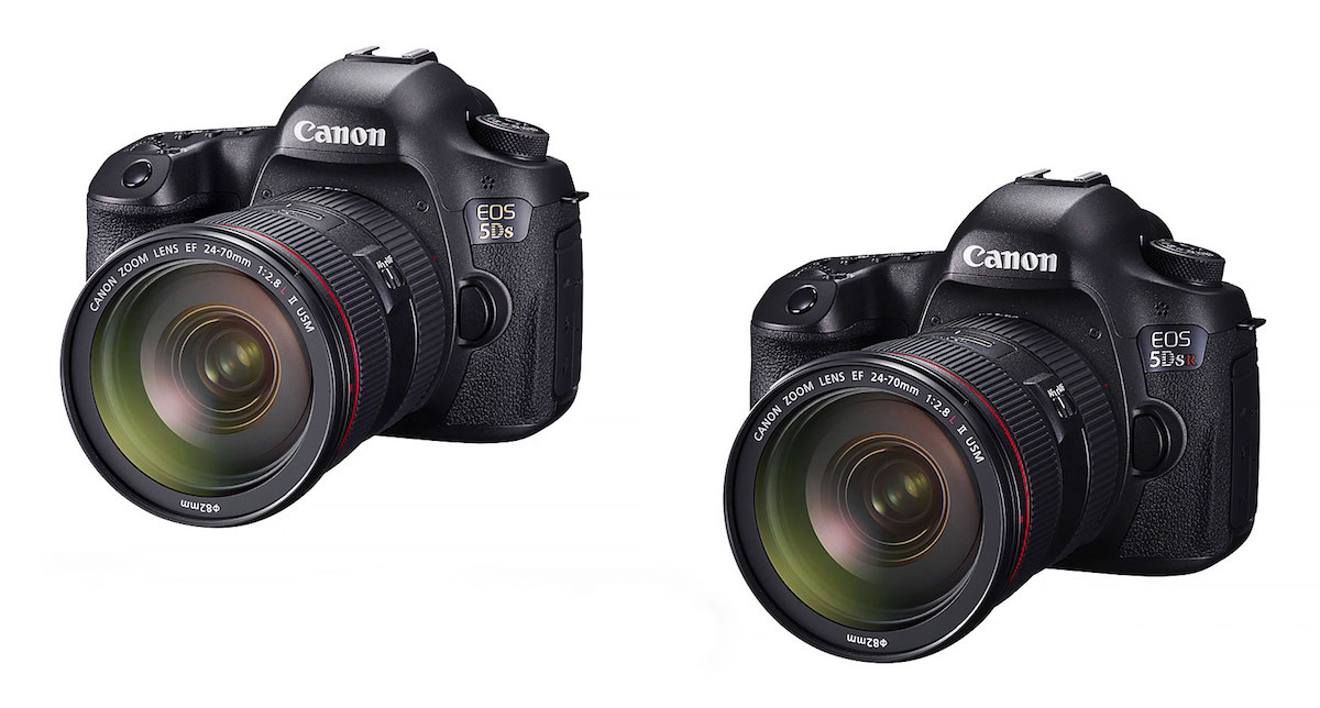 Canon EOS 5DS & 5DS R Firmware Update Version 1.1.2 Released