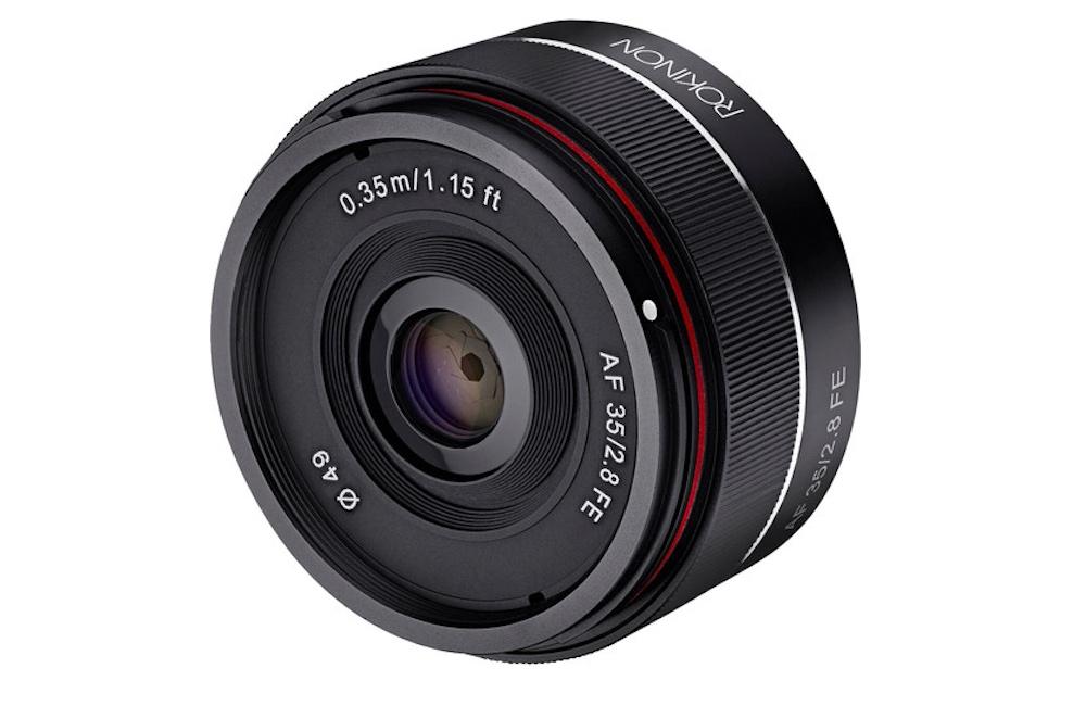 First Samyang AF 35mm f/2.8 FE lens reviews, samples