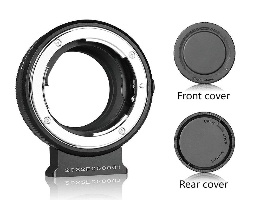 Meike Nikon F Mount Lens To Fuji X-Mount Camera Adapter