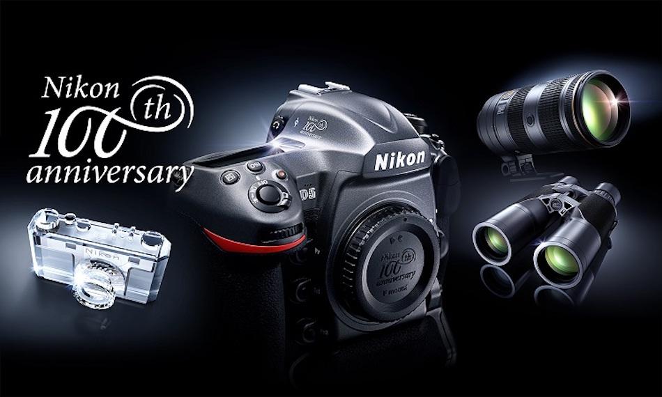 Nikon 100th Anniversary Commemorative Models Now On Sale