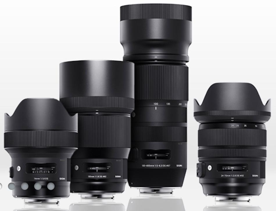Pre-Order : Sigma 24-70mm f/2.8 DG OS HSM Art and 14mm f/1.8 DG HSM Art lenses