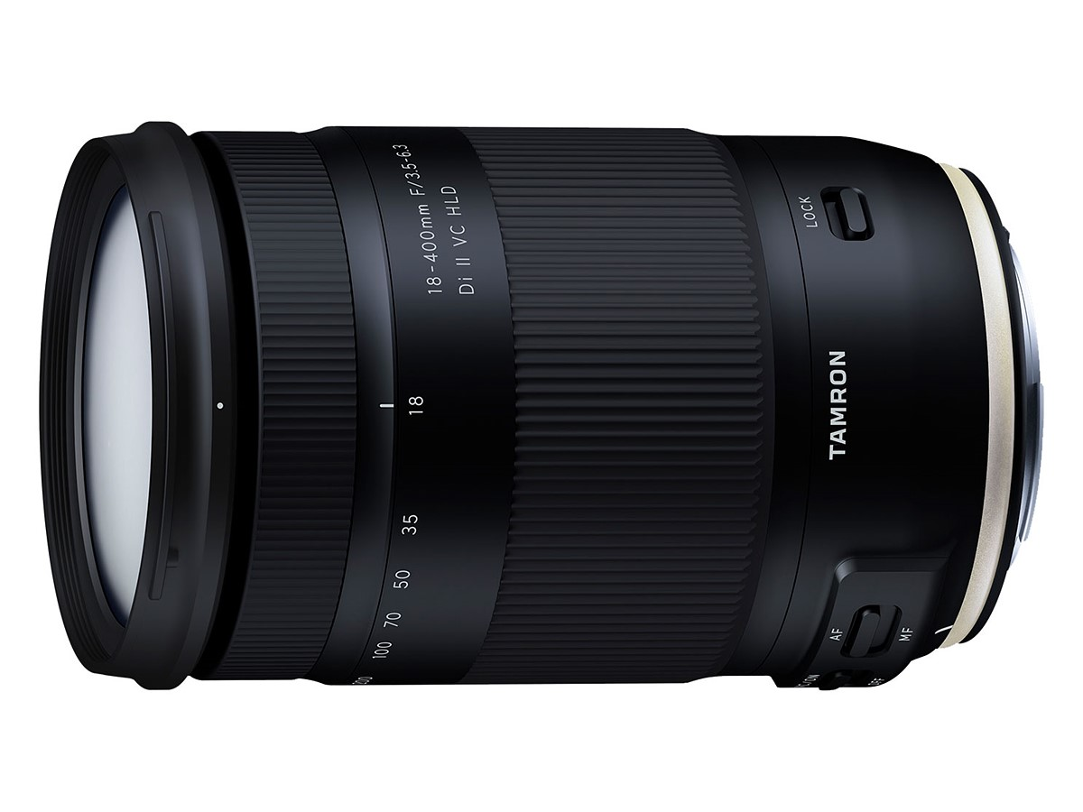 Tamron 18-400mm F/3.5-6.3 Di II VC HLD Lens Officially Announced