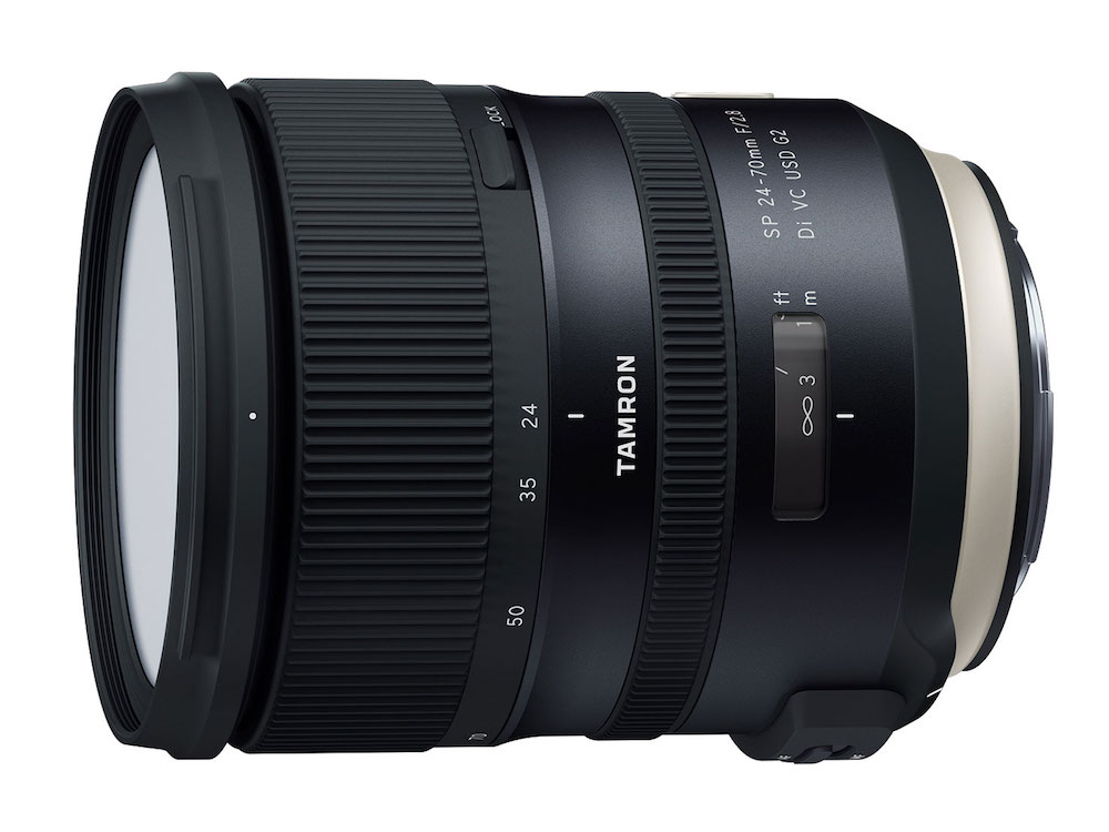 Tamron SP 24-70mm F/2.8 Di VC USD G2 Lens Officially Announced