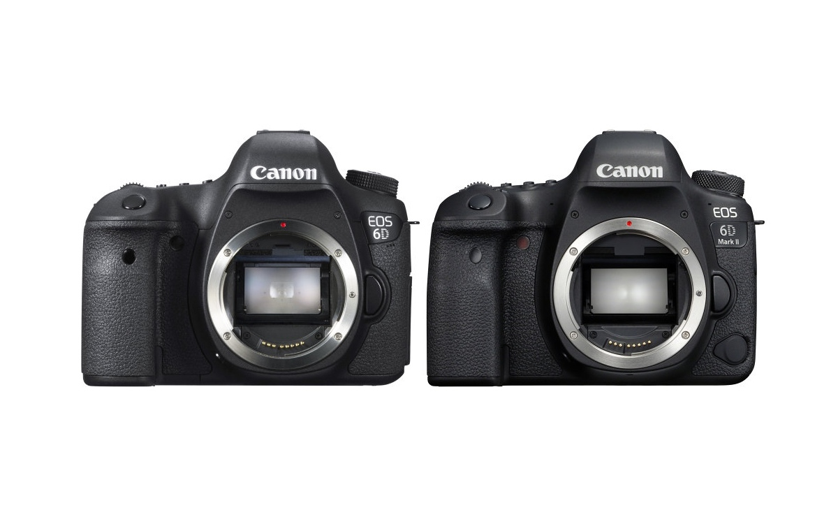 Canon EOS 6D Mark II vs EOS 6D Comparison