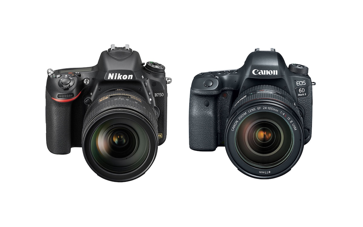 Nikon D750 vs Canon 6D Mark II - Comparison