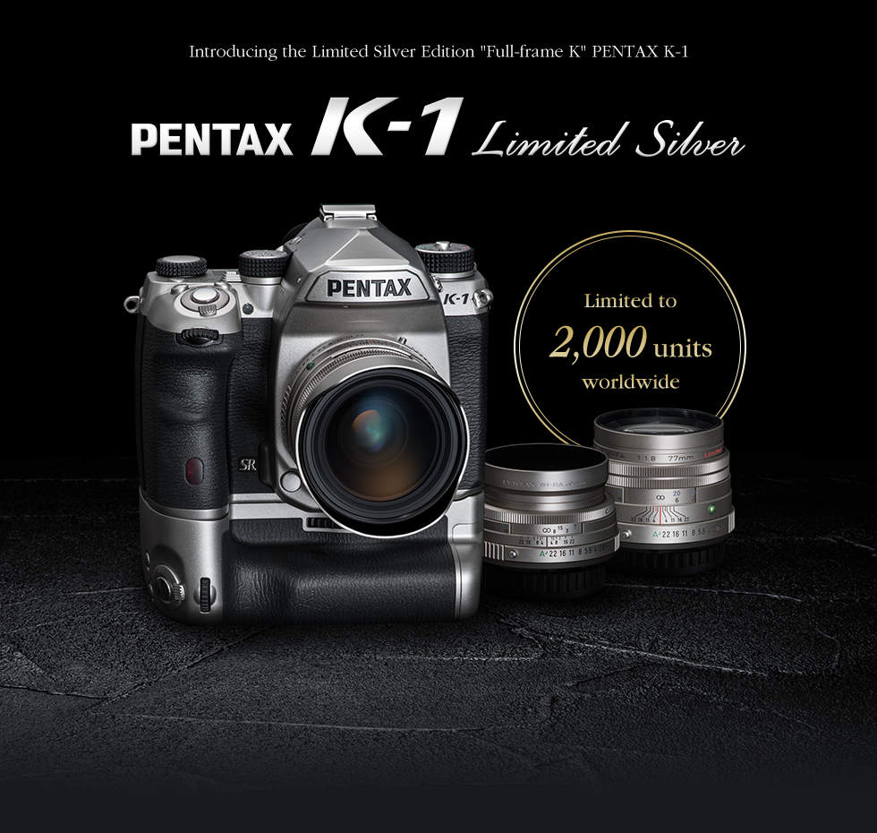 Pentax K-1 Silver Limited Edition Officially Announced