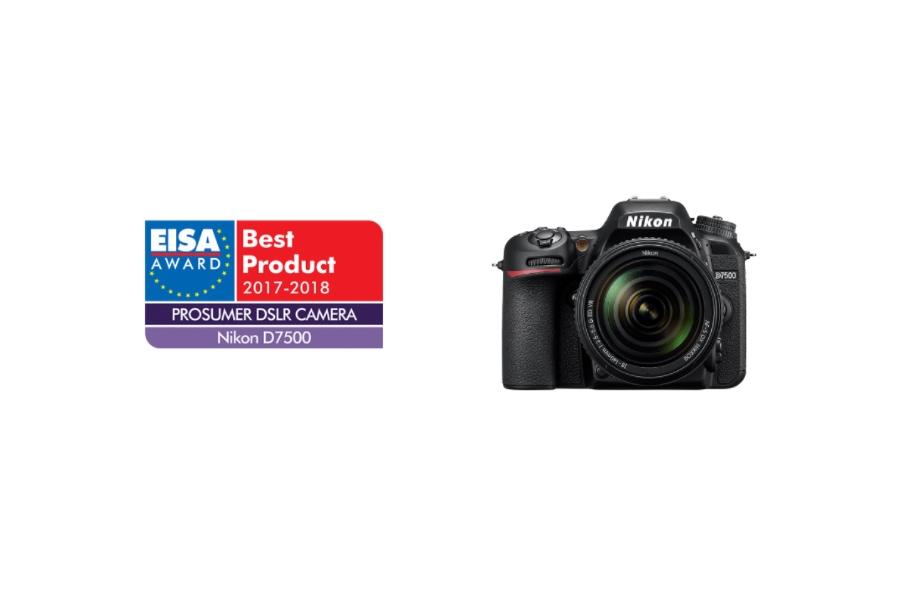 Nikon D7500 Wins EISA Award