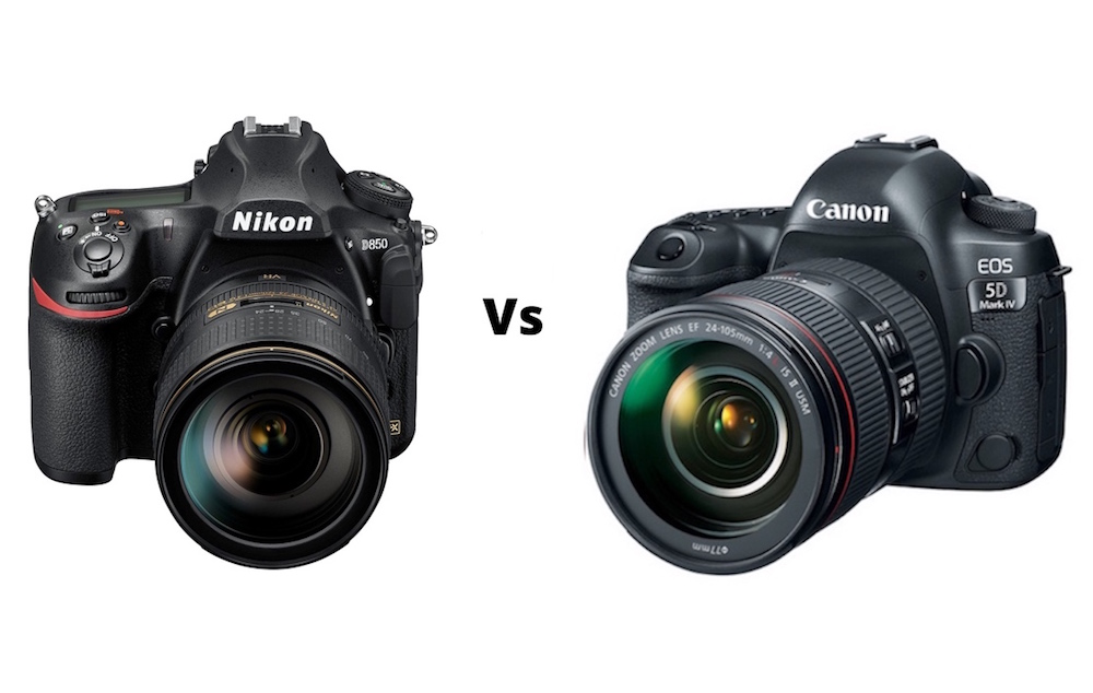 Nikon D850 vs Canon 5D Mark IV - Comparison