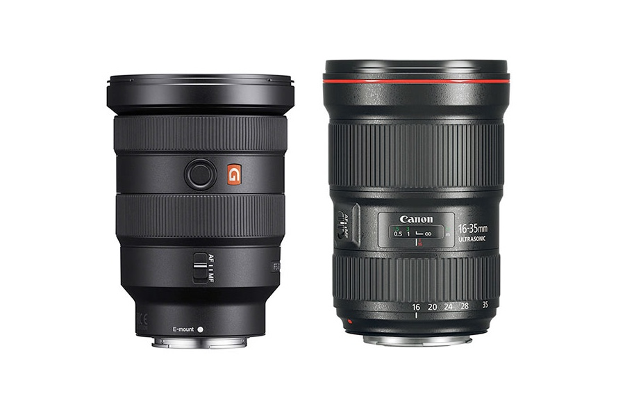 Sony FE 16-35mm f/2.8 GM vs Canon EF 16-35mm f/2.8L III - Comparison