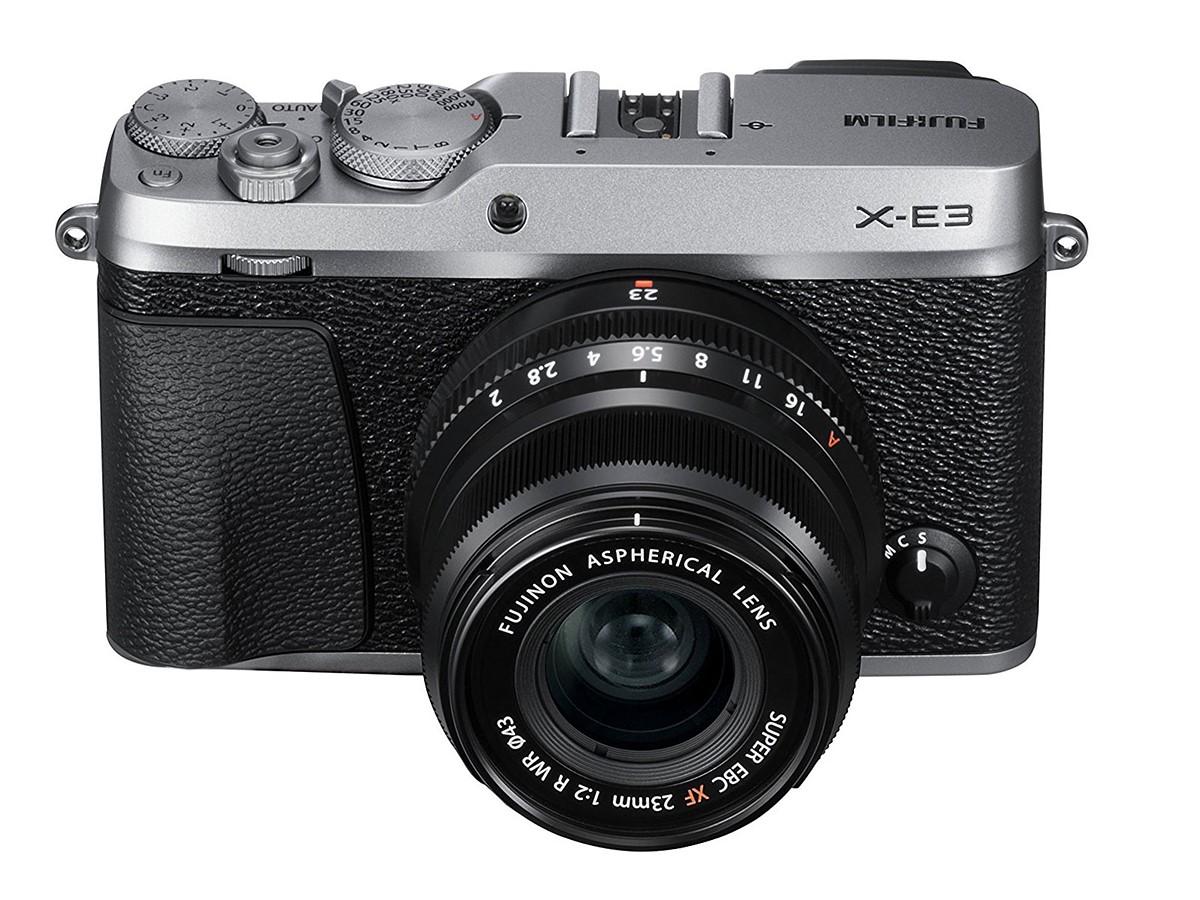 Fujifilm X-E3 announced with 24MP sensor and 4K video