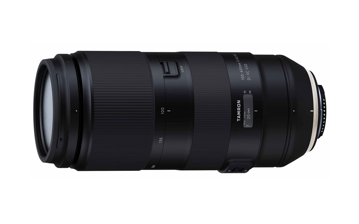 Tamron 100-400mm F/4.5-6.3 Di VC USD Lens Officially Announced