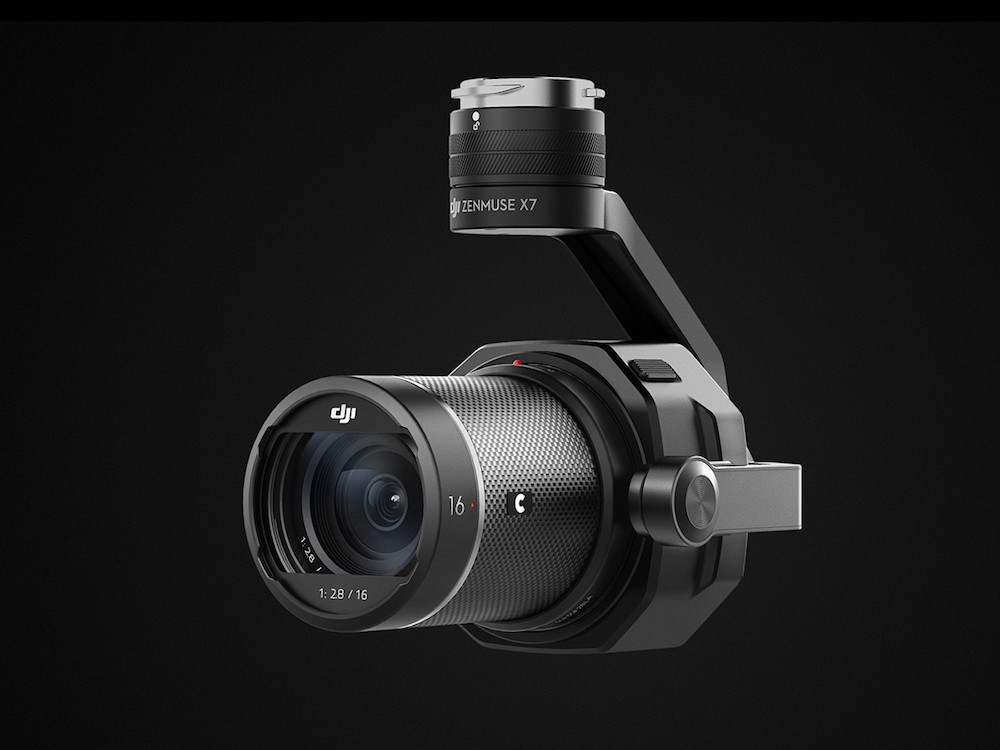 DJI Zenmuse X7 6k camera officially announced