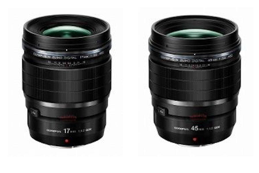 First Images of the Olympus 17mm f/1.2 and 45mm f/1.2 PRO lenses