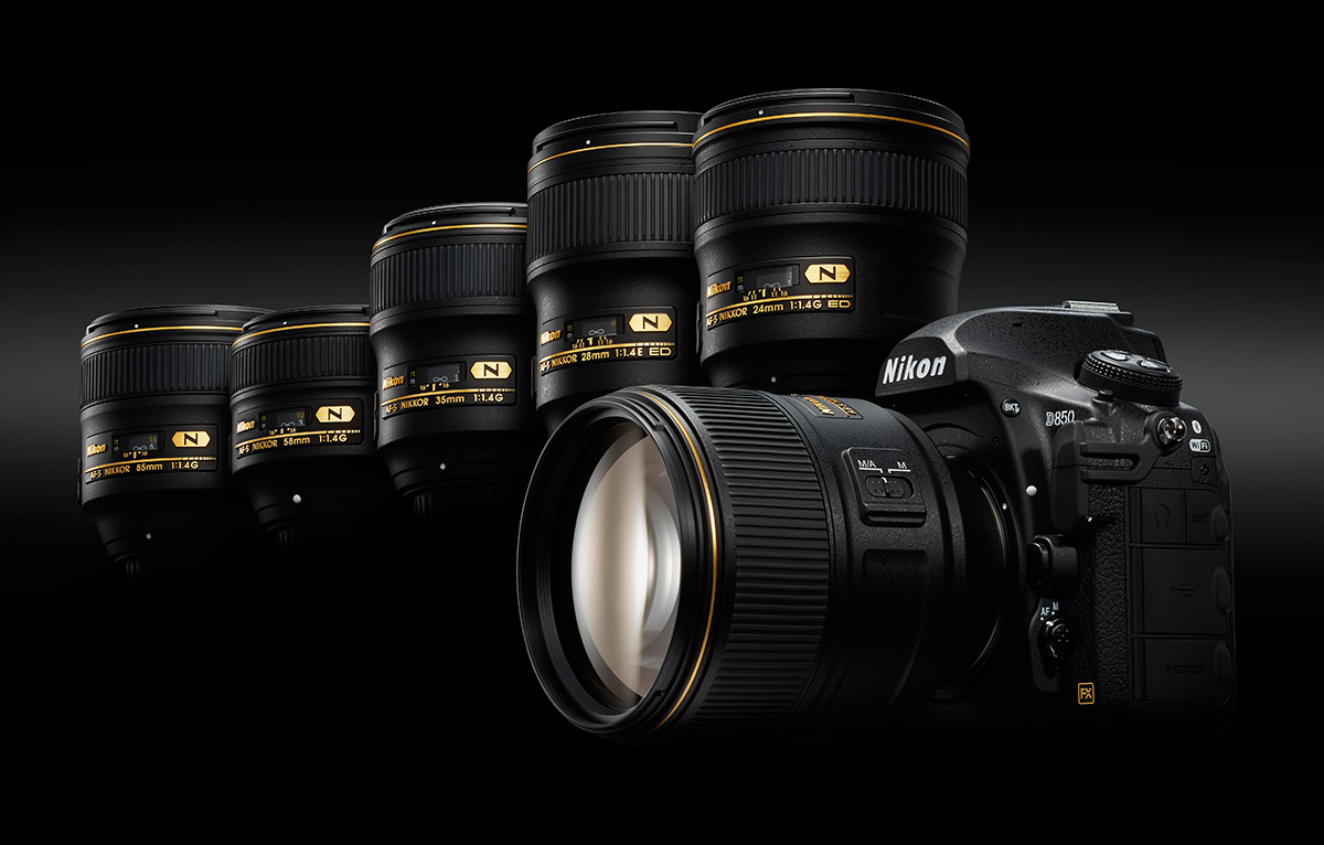 Official Nikon D850 lens recommendation list